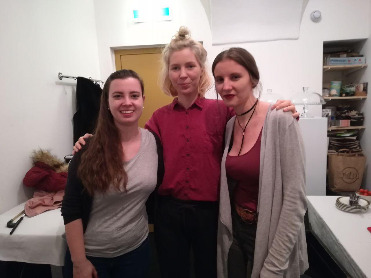 Anna, Magdalena und Mira Lu Kovacs