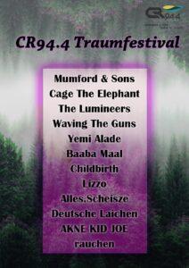 Lineup für das Traumfestival