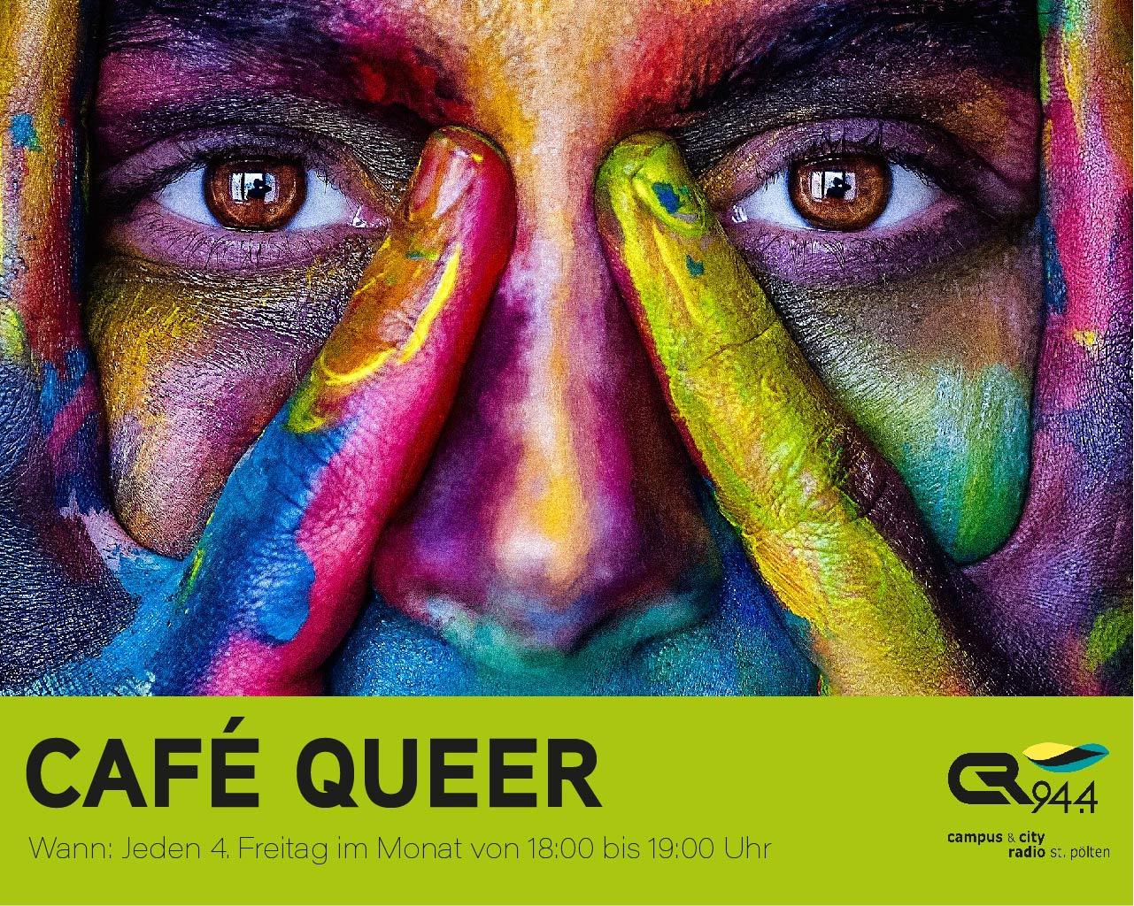 Cafe Queer mit Massud Rahnama und Bakri Hallak, Freitag, 26.6., 18 h