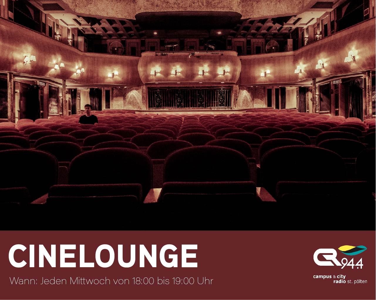 Cinelounge, Do. 15.11., 18-19h