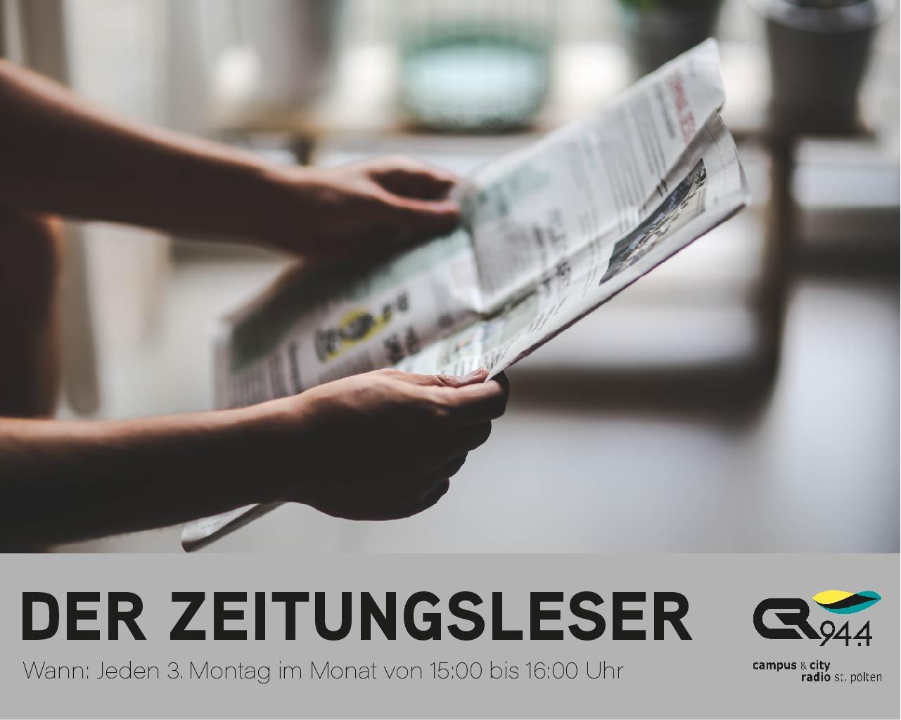 Der Zeitungsleser, Mo, 15.2.2021, 15 h