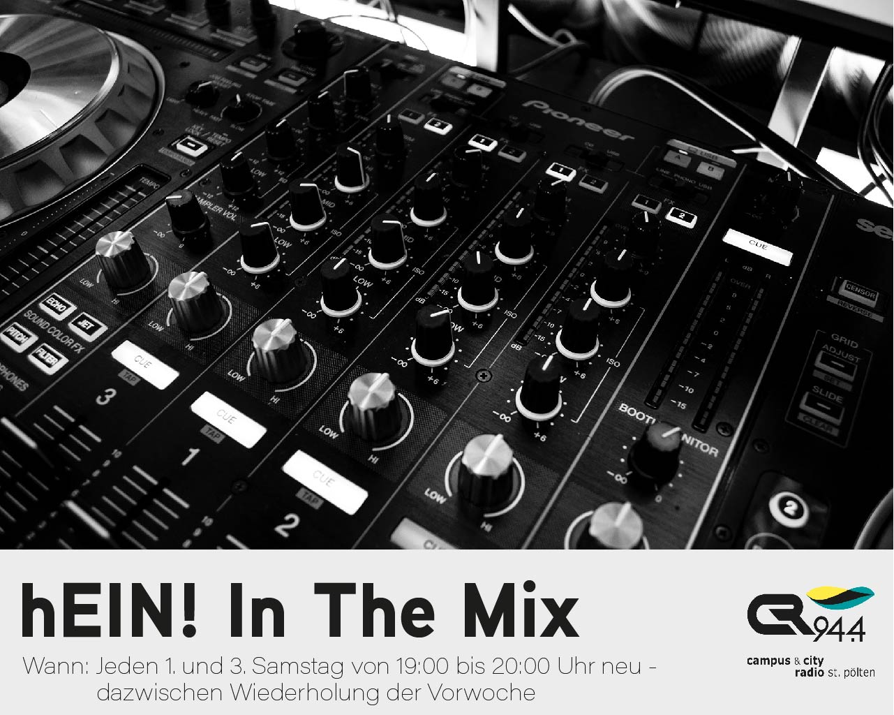 hEIN! In The Mix, Samstag 10.3.18, 19.00-20.00
