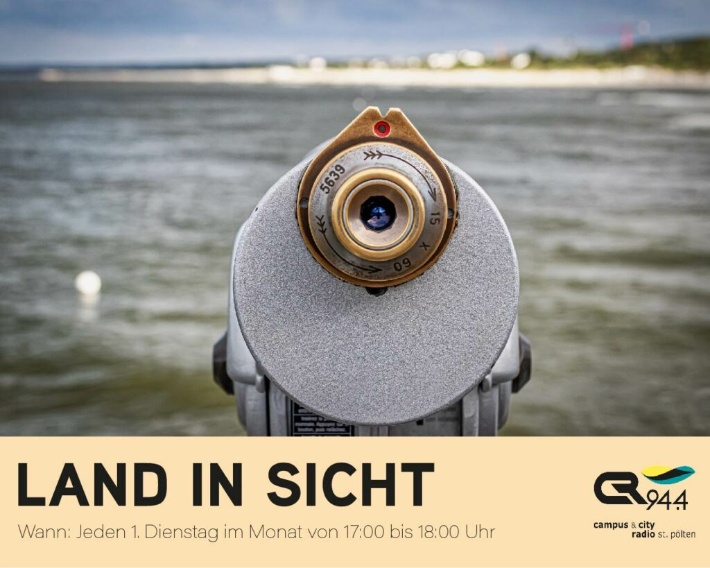 Land in Sicht, Di., 04.05., 17-18 Uhr: Simon Olipitz