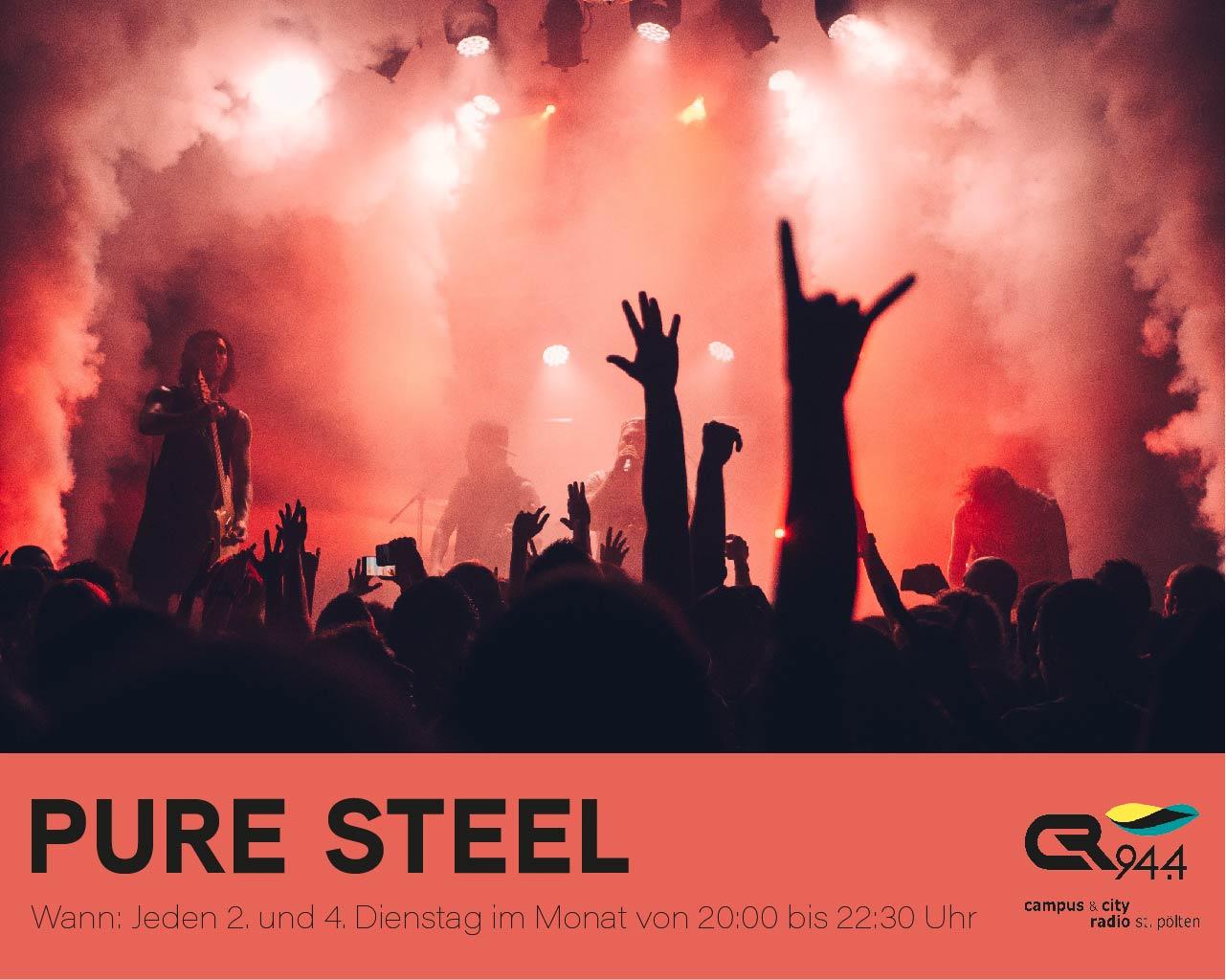 Pure Steel, Di. 24.3., 20-22h30
