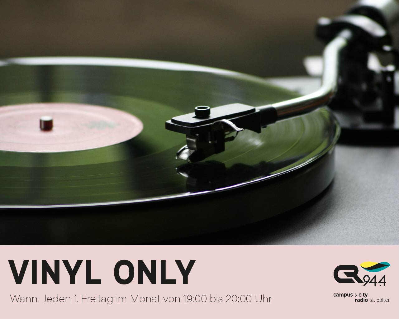 Vinyl Only – Analog ist besser: 6000BPH * Fr, 1. Jänner ab 19 Uhr