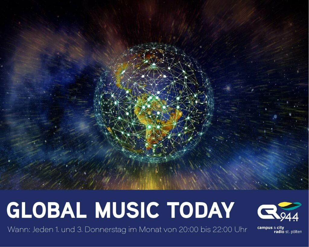 Global Music Today, Do. 2.9., 20-22h