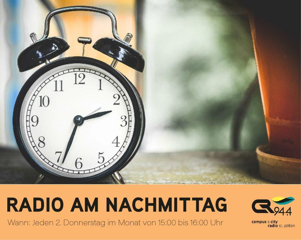 Radio am Nachmittag, Donnerstag, 9.9., 15 h